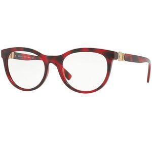 Versace Accessories - Versace Eyeglasses Havana/Red w/Demo Lens